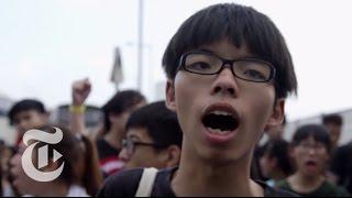 getlinkyoutube.com-Hong Kong Protest 2014: The Evolution of Joshua Wong | The New York Times