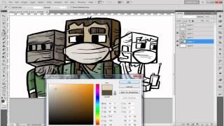 getlinkyoutube.com-MinecraftRocket สอนวาดรูปการ์ตูน มายคราฟ EP.2