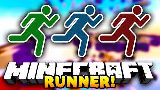 getlinkyoutube.com-Minecraft RUNNER! (Funny Minigame) #1 - w/ PrestonPlayz & Choco