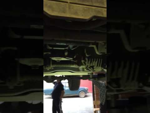 Мицубиси л200 подтяжка рулевой рейки,своими руками.