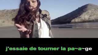 Zaho - Tourner la Page (karaoké edit by Anja)