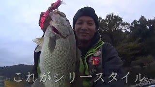 getlinkyoutube.com-バス釣り対決(後半戦)デカバスGETだぜ!!トップウォーター対ハイテク topwater bass fishing in Japan