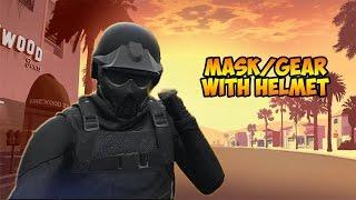getlinkyoutube.com-GTA 5 Online   How to wear MASK/GEAR with HELMET Online (clothing glitch)