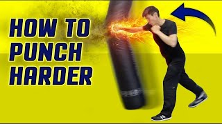 getlinkyoutube.com-How to execute a punch HARDER - how to throw a punch correctly - How to knockout punch