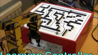 computer system learning to play the brio labyrinth game using only visual input