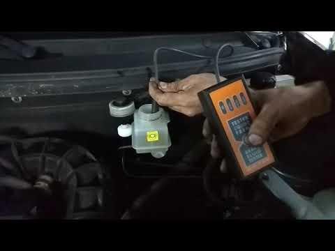 Проверка состава тормозной жидкости
