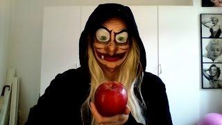 getlinkyoutube.com-Snow White Evil Witch Halloween Tutorial