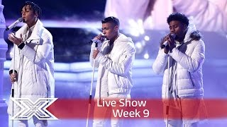 getlinkyoutube.com-5 After Midnight sleigh with East 17's Stay Another Day | Semi-Final | The X Factor UK 2016