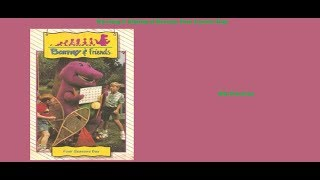 Barney: Four Seasons Day VHS Opening & Closng