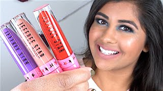getlinkyoutube.com-Jeffree Star VELOUR LIQUID LIPSTICKS: Review & Lip Swatches!