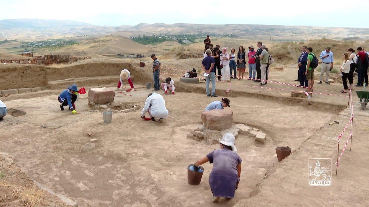 Հայ և ֆրանսիացի հնագետներն ավարտում են Էրեբունի ամրոցի հնագիտական պեղումները