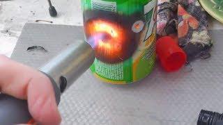getlinkyoutube.com-Газовая горелка - резак: обзор, тест