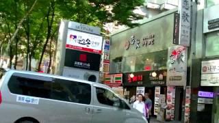 getlinkyoutube.com-首爾自由行 - 6001、6015機場巴士乙支路入口上下車站步行往Sky Park 天空花園酒店、明洞 Royal 皇家酒店