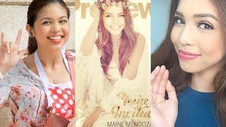 "Maine Mendoza covers Preview Magazine ""Phenomenal Chic"""