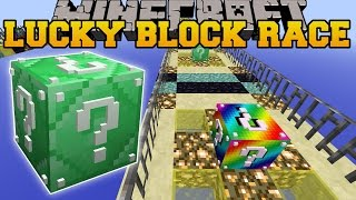 Minecraft: EPIC TRIPLE LUCKY BLOCK RACE - Lucky Block Mod - Modded Mini-Game
