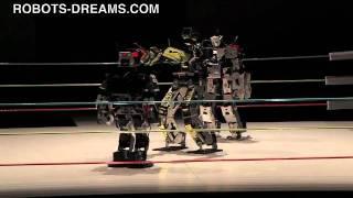 getlinkyoutube.com-Robot Pro Wrestling 10 - Nagare Gold vs. Thunderbolt