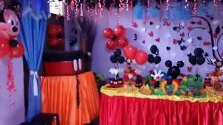 getlinkyoutube.com-Fiesta Tematica _ La casa de Mickey Mouse