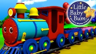 getlinkyoutube.com-The Color Train Song! | Learn Colors with the LittleBabyBum Train!