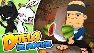 getlinkyoutube.com-¡Bomba va! |#44| Duelo de novios (Fruit Ninja)