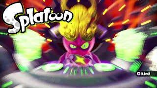 getlinkyoutube.com-Splatoon(スプラトゥーン) amiiboチャレンジ:ガール ボス戦5 「最後の決戦 タコツボキング」
