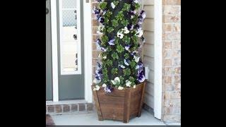 getlinkyoutube.com-DIY Flower Tower #digin #heartoutdoors #sponsored