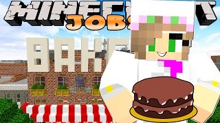 getlinkyoutube.com-Minecraft Jobs-Little Kelly Adventures- WORKING IN A BAKERY!