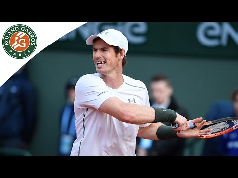 Stepanek v Murray 2016 Roland-Garros Men`s Highlights/R1
