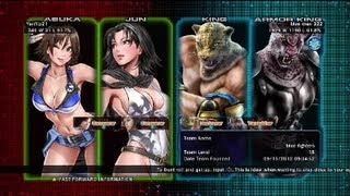 getlinkyoutube.com-Tekken Tag Tournament 2 : Yanflip21 ( Jun X Asuka ) VS blue Man 322 ( Armor King X King )