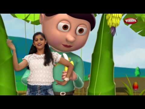 Marathi Rhymes For Children With Actions   Top 10 Fruit Rhymes   मराठी बालगीत   Marathi Action Songs