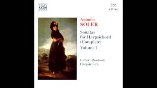 getlinkyoutube.com-Antonio Soler, Sonatas 1,85,90,110,54,15,101,18,19,43. Gilbert Rowland, clave
