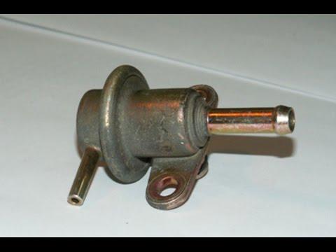 Как проверить регулятор давления топлива на Mazda Demio