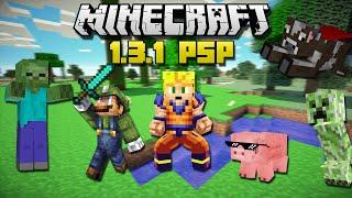getlinkyoutube.com-Descargar e instalar Minecraft 1.3.1 para PSP | HD | luigi2498