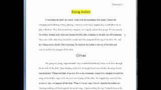 Free Samples: Narrative Essay Examples