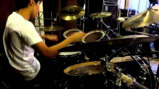 talking to the moon drum cover by Eli Lee