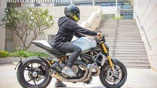 getlinkyoutube.com-Ducati Monster 1200 S độ lên đồ chơi gần 1 tỷ đồng | MotoSaigon.vn