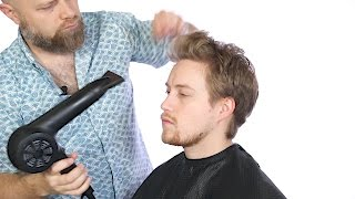 getlinkyoutube.com-How to Style a Growing Out Men's Haircut - TheSalonGuy
