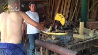 getlinkyoutube.com-Bending Bamboo by Applying Heat