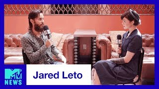 Jared Leto Talks Thirty Seconds to Mars, 'Walk on Water' & VMAs | MTV News