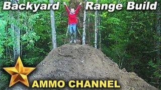 getlinkyoutube.com-Building the backyard shooting range