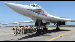 getlinkyoutube.com-RARE VIDEO US made F-14 flying with Tu-160, Tu-95 & Tu-22M Aircraft