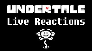 getlinkyoutube.com-Undertale: Reactions to Flowey the Flower