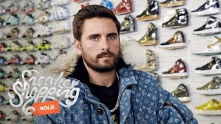 Scott Disick Goes Sneaker Shopping With Complex