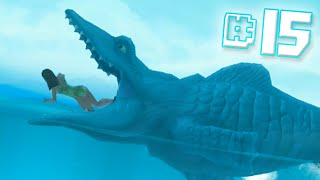 getlinkyoutube.com-MOSASAURUS EAT!! || Hungry Shark Evolution - Ep 15