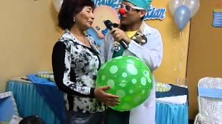 getlinkyoutube.com-Juegos novedosos para Baby Shower con Clauns