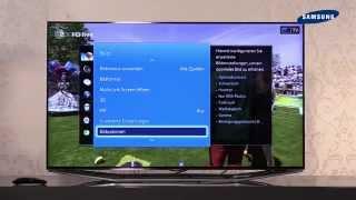 getlinkyoutube.com-Samsung TV 2014 -  05 Einstellungen / Systemmenü