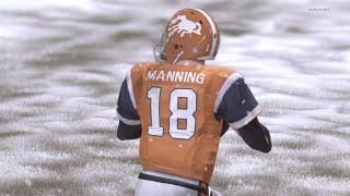 getlinkyoutube.com-SNOWY FRENZY! Russell Wilson vs Peyton Manning RIVALRY RENEWED! -  Madden 16 Online Gameplay