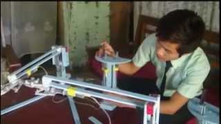 getlinkyoutube.com-Lamminlal Vaiphei in 'Hydraulic Robot Arm'  bawlkhia