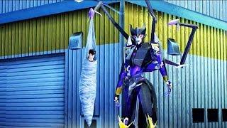 Transformers Prime - Arcee VS Airachnid Battle