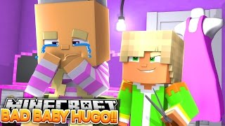 BABY LEAH IS BALD, BABY HUGO SHAVED HER HAIR OFF!! Little Donny Minecraft Roleplay.