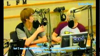 getlinkyoutube.com-Kyuhyun & Eunhyuk talking about (rap + dance)Kyu and their noonas